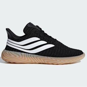 Adidas Original Sobakov Black White Gum Sole Sz 6